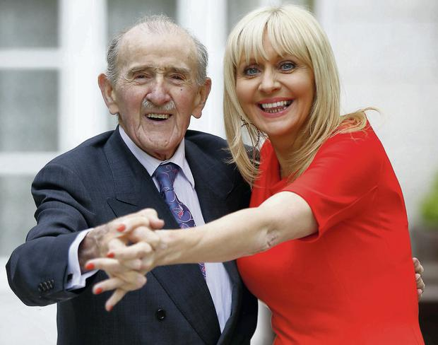 Miriam O'Callaghan and Maurice Gaffney