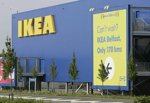 The Ikea store in Ballymun, Dublin