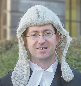 Senior Counsel Sean Guerin. Photo: Mark Condren