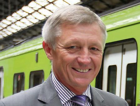 David Franks, Irish Rail chief executive