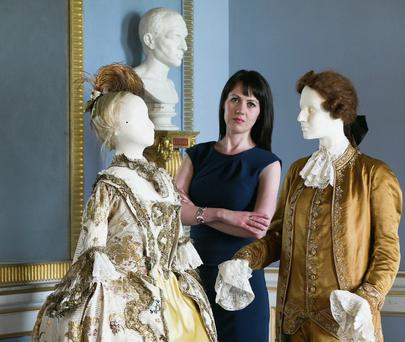 Karol Mullaney-Dignam pictured in Castletown House. Photo: Leon Farrell/Photocall
