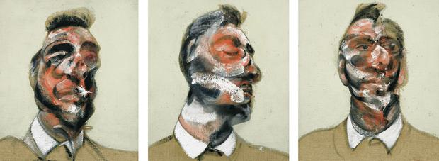 Francis Bacon's triptych 'Three Studies for Portrait of George Dyer' is expected to fetch up to €24m when it goes under the hammer this month.