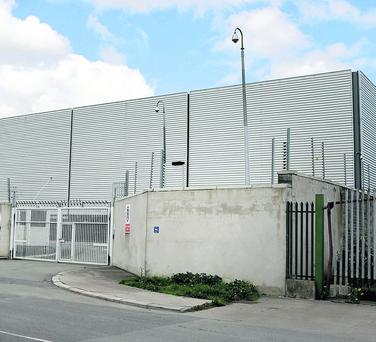 Revenue Commissioners' contraband warehouse