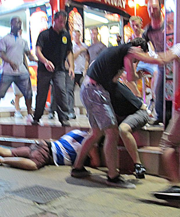 magaluf fight