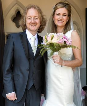 Barry and his bride Aoife