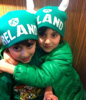 Formerly conjoined twins Hassan and Hussein Benhaffaf have been making strong progress