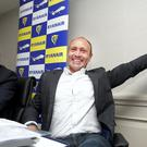 Kenny Jacobs, chief marketing officer at Ryanair, and Michael O'Leary