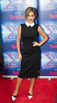 Cheryl Fernandez-Versini at the X-Factor press launch at the Ham Yard Hotel, Soho, London. Photo: PA