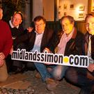 Brian Cowen sleeps out for charity