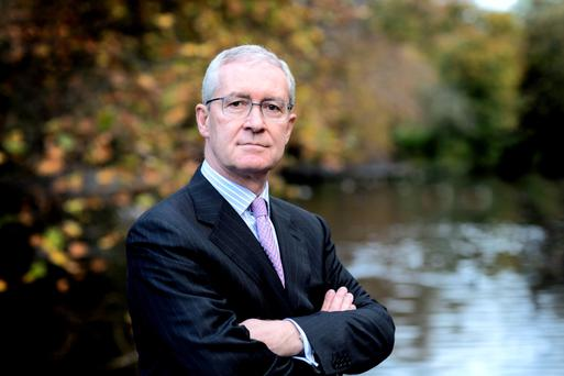 Hugh Brady, the former UCD president, who is taking up a similar role at the University of Bristol, says that without more funding the decline of Irish universities is inevitable. Photo: David Conachy