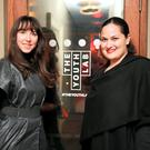 Jane McDaid, Founder Thinkhouse and Lauren Wirtzer head of digital for Beyonce at the Fringe Summit in the Odessa Club in Dublin. Picture:Arthur Carron