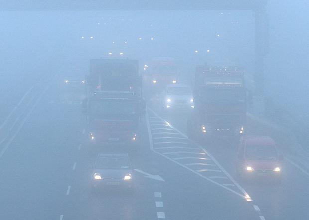Fog on the Naas Road