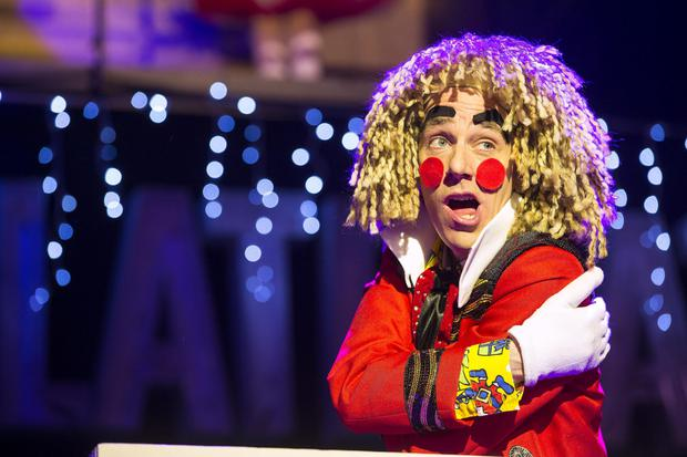 Ryan Tubridy pictured during the opening performance