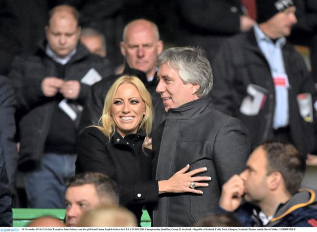 Emma English and John Delaney