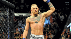 Conor McGregor, before his feather weight bout against Dustin Poirier.