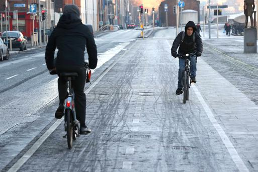 To provide more safe routes in cities and larger towns, the department is weighing up plans to allow cyclists to travel in both directions on one-way streets
