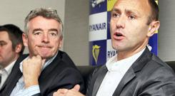 Michael O'Leary and Kenny Jacobs