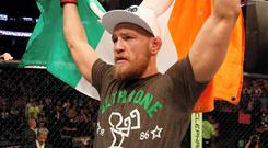 The countdown is on - Conor McGregor will enter the Octagon in a few hours in Boston