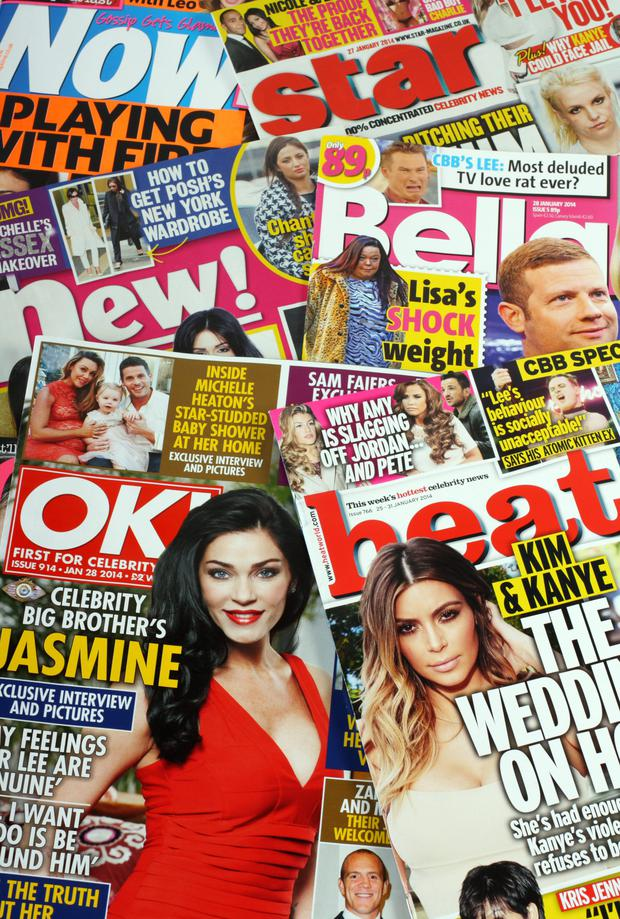 Gossip magazines often disappear from surgeries