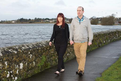Lorraine and Warren Reilly, who lost two babies in two years