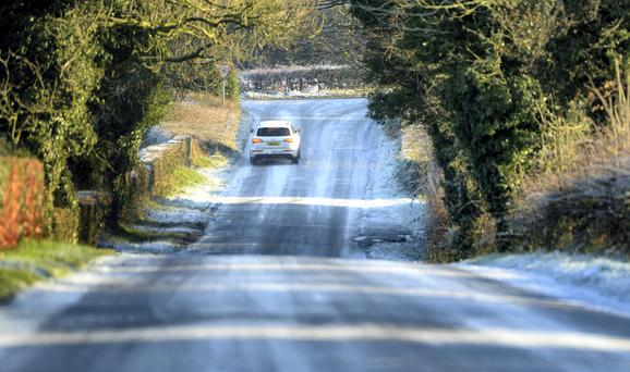 The major of road collisions happen in rural areas according to gardaí