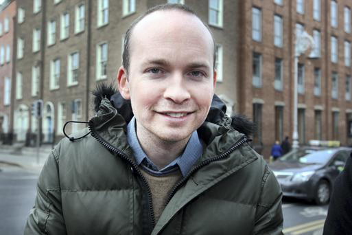 Paul Murphy at the Dail yesterday