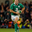 Rob Kearney in action for Ireland