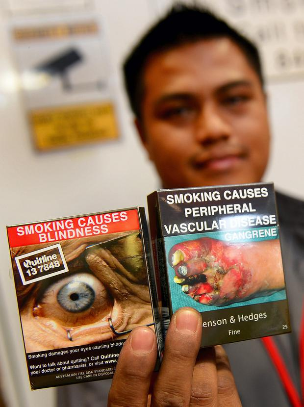 Packing a punch: Graphic health warnings on Australian cigarette packaging
