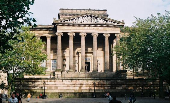 The Harris Museum in Preston