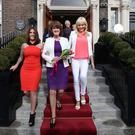 Lynn Ruane, Joan Burton and Miriam O'Callagahn
