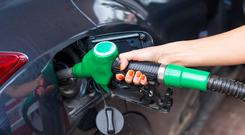 Petrol prices have plummeted by 15pc and diesel is down 16.3pc in the last year