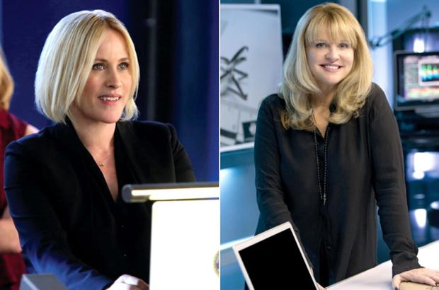 SPIN-OFF: Patricia Arquette plays Avery Ryan, based on Mary Aiken, in CSI:Cyber. Photo: CBS