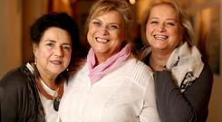 Kathleen Hurlow, Christina Noble and Philomena Swanson pictured in the IFI