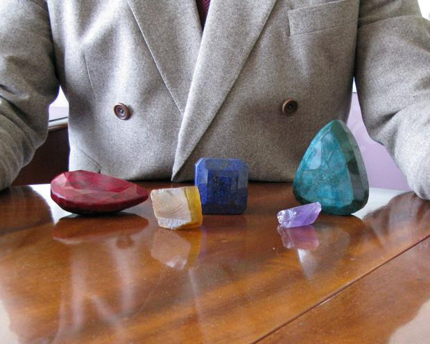 Cork-based gem broker Michael Wall is to donate his personal collection of rough specimen stones to the museum.