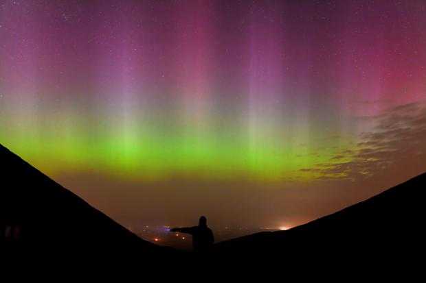 Aurora Borealis from Donegal