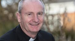 Fr Brendan Kealy, who presided over the funeral Mass of his good friend Tony Fenton