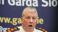 Chief Superintendent Diarmuid O'Sullivan