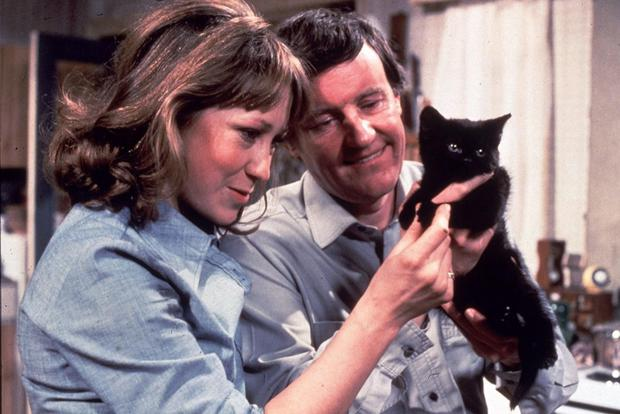 Felcity Kendal and Richard Briers in The Good Life