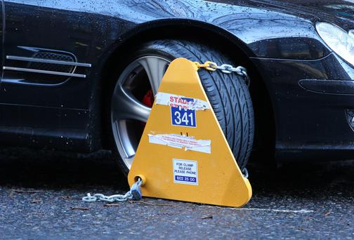 Drivers in Dublin could face a €50 increase to remove clamps if proposal gets the green light