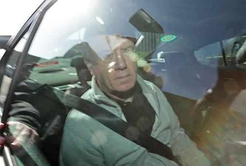 Eamon Lillis leaving Wheatfield Prison. Photo: Colin Keegan
