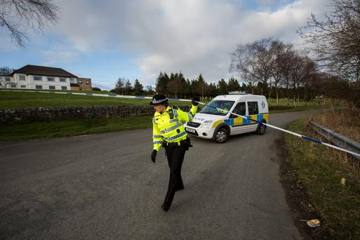 Police seal off a new area at Windyhill golf club as they continue their search for missing Irish student Karen Buckley.