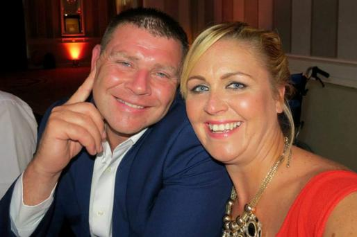 Sonya Whelan and her husband