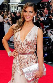 Glamour: Amanda Byram wants women visitors to the Irish Derby to showcase their style. Photo: Ian West