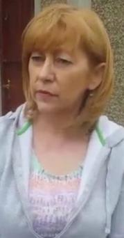 Appeal: Pauline Torley who has asked the Sinn Fein leader to intervene to lift the threat to her son