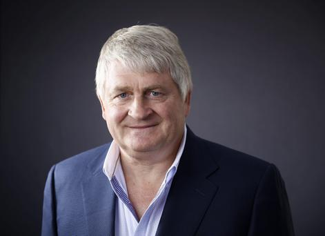 POLITICAL STORM: Businessman Denis O'Brien