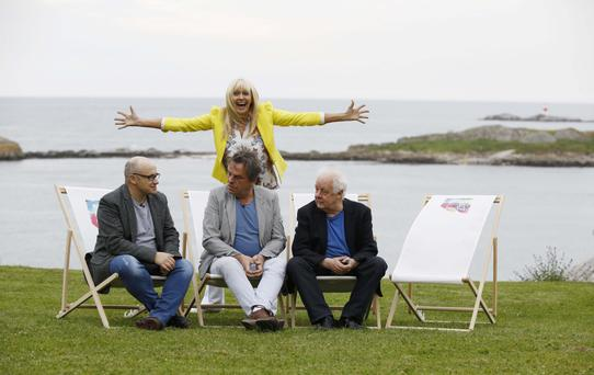 LET'S TALK BOOKS: Lenny Abrahamson, Neil Jordon and Jim Sheridan were guest speakers at a talk titled 'Directors Talk Books' chaired by Miriam O'Callaghan