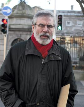 Sinn Féin President Gerry Adams was among a group of party bosses that this week sanctioned the expulsion of Cork councillor Kieran McCarthy, as well as the 12-month suspension of his council colleague Melissa Mullane