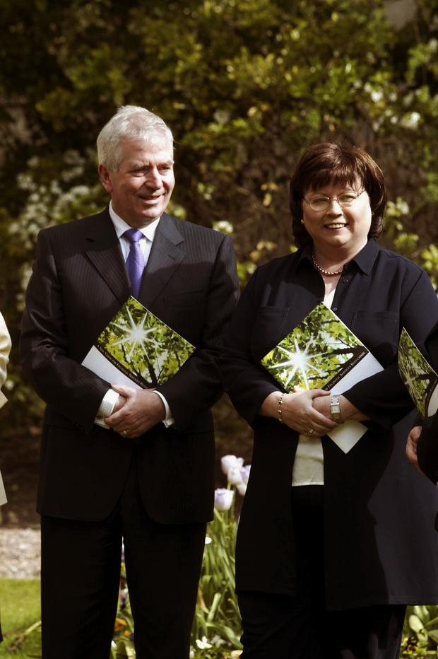 Charlie McCreevy and Mary Harney