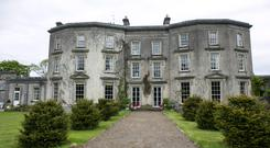 Loughton House, the stately home in Moneygall, Co Offaly, that has been put on the market for €2.75m by Minister James Reilly