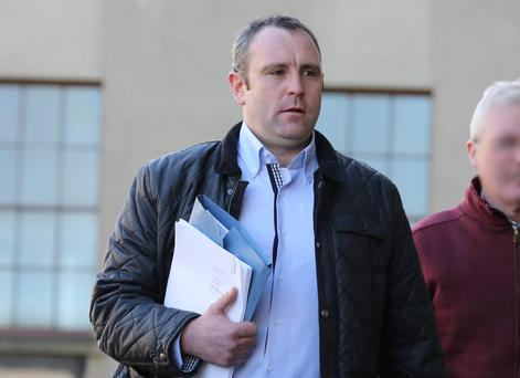 Former Wexford Hurling captain Paul Codd, pictured leaving a High Court hearing last year